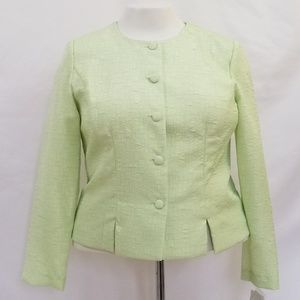 Koret Size 16 Light Green Blazer